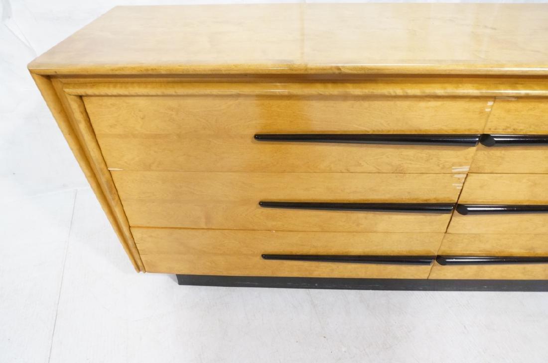 Blond Maple Stylish Modern Credenza Sideboard Dre - 4