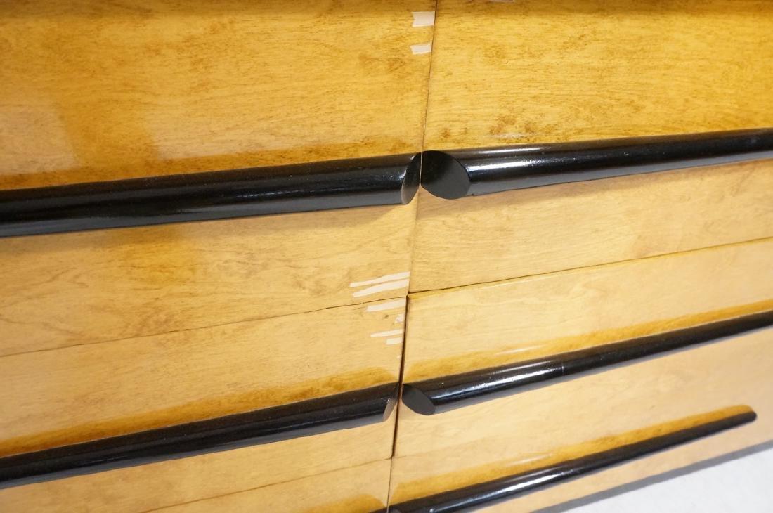 Blond Maple Stylish Modern Credenza Sideboard Dre - 5