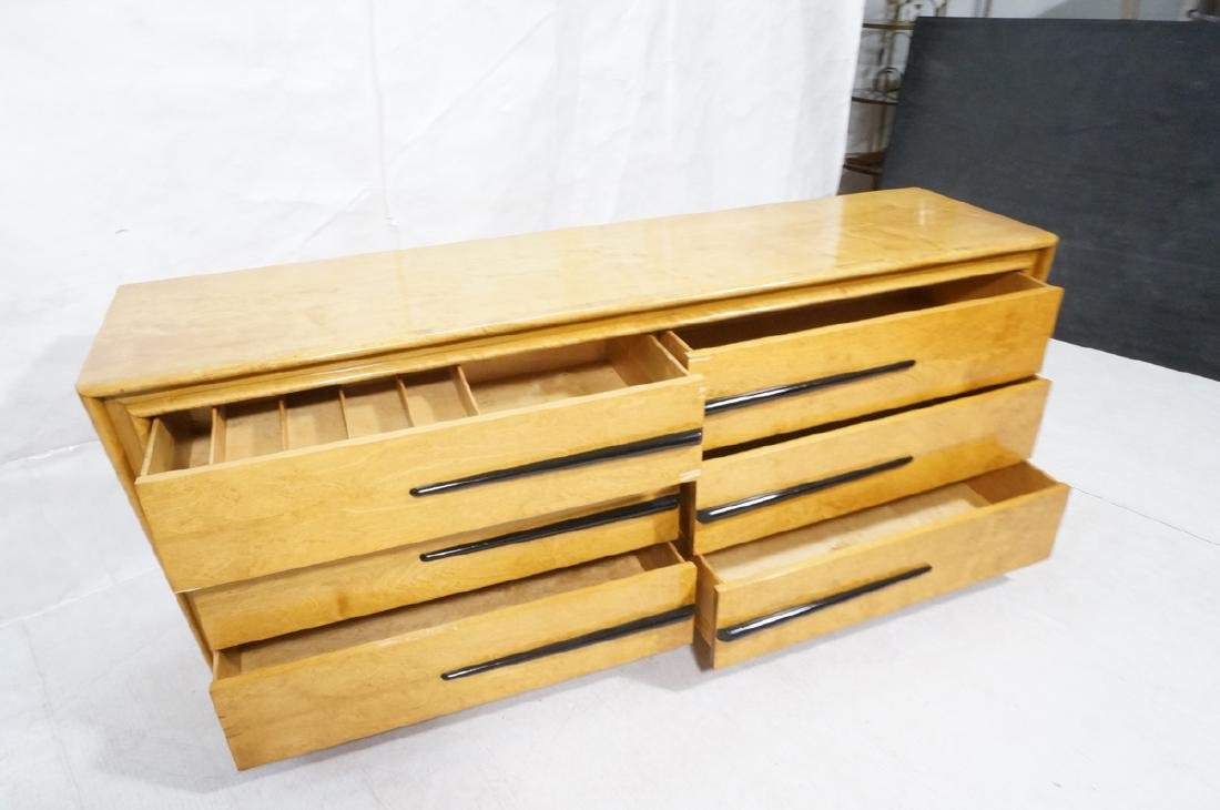 Blond Maple Stylish Modern Credenza Sideboard Dre - 8