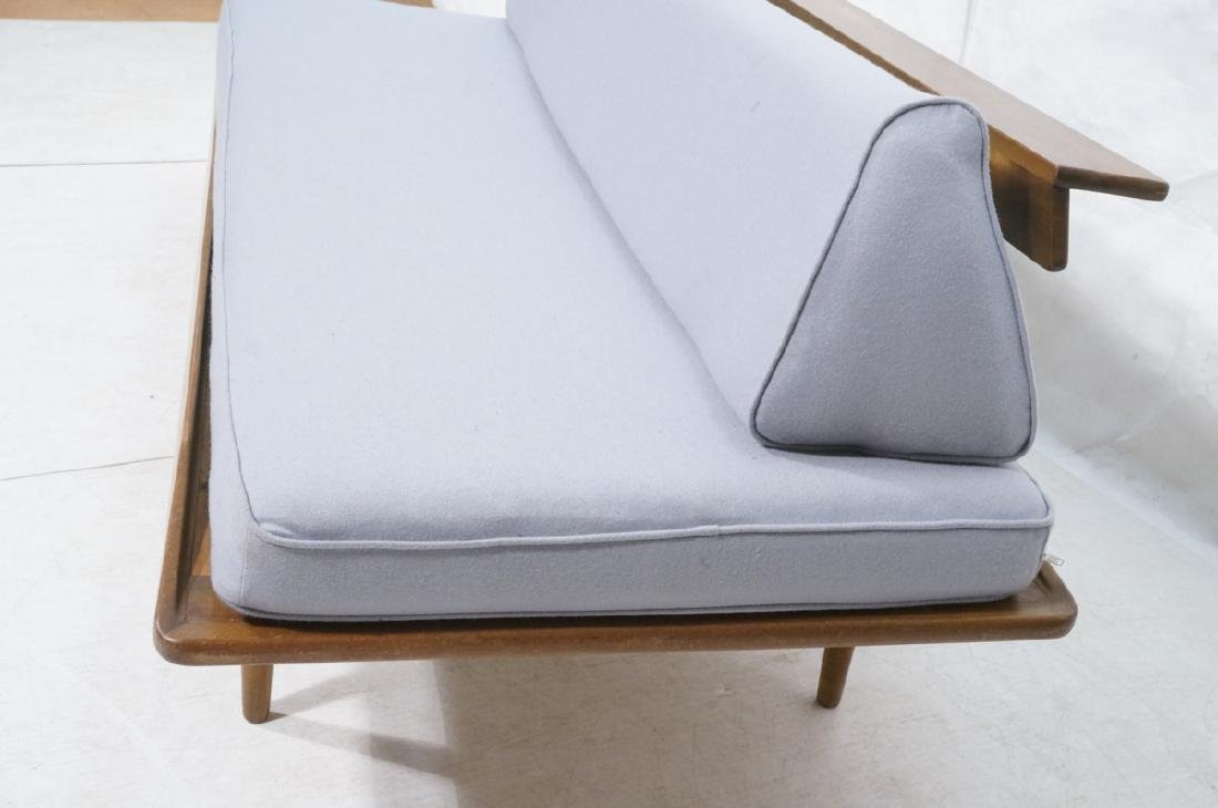 HANS WEGNER Style Sofa Daybed. Armless couch with - 2