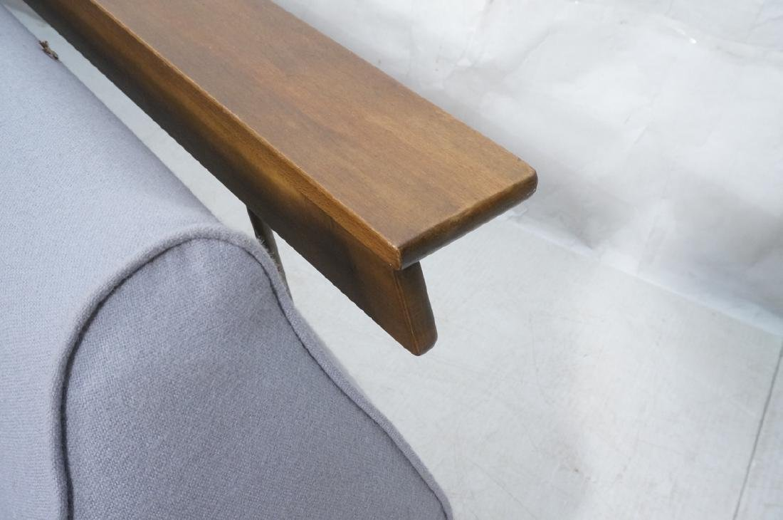 HANS WEGNER Style Sofa Daybed. Armless couch with - 5