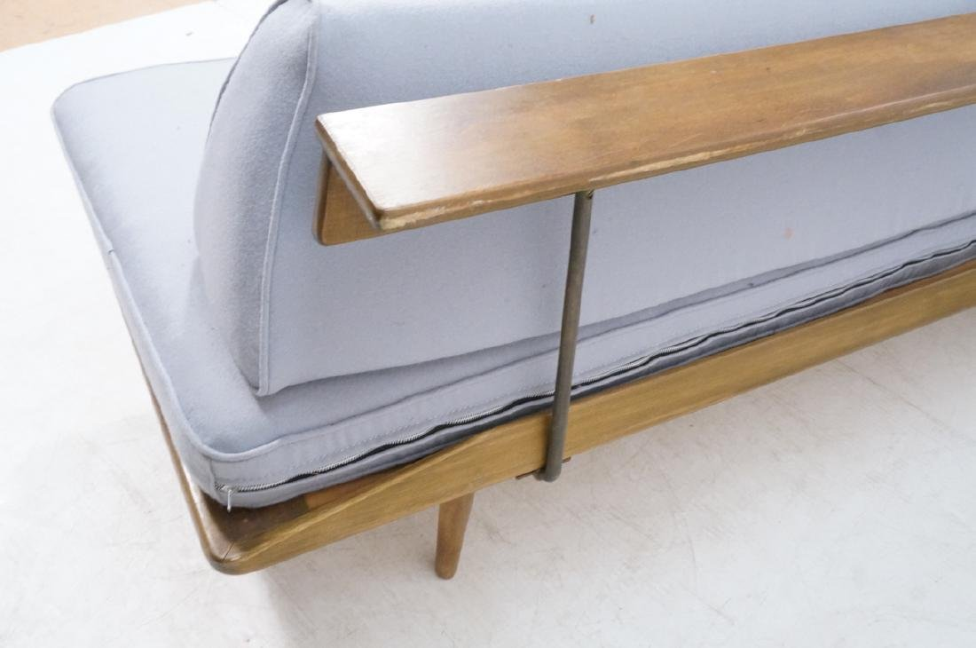 HANS WEGNER Style Sofa Daybed. Armless couch with - 6