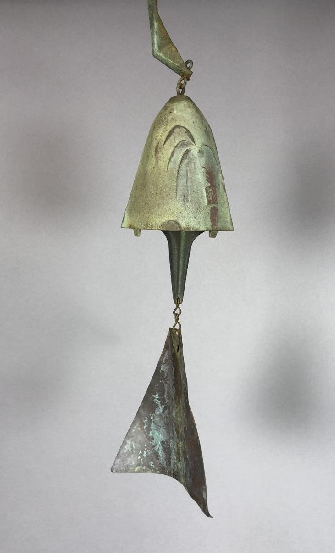 PAOLO SOLERI for ARCO SANTI Bronze Wind Chime. La