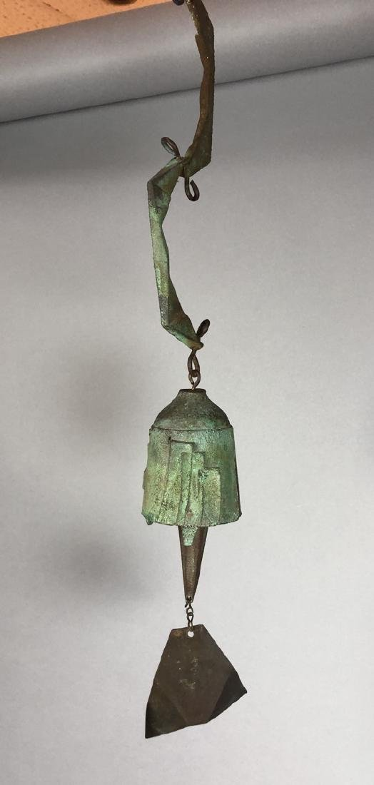 PAOLO SOLERI for ARCO SANTI Bronze Wind Chime. Sm