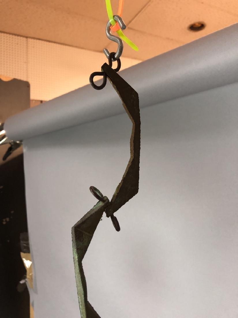 PAOLO SOLERI for ARCO SANTI Bronze Wind Chime. Sm - 2