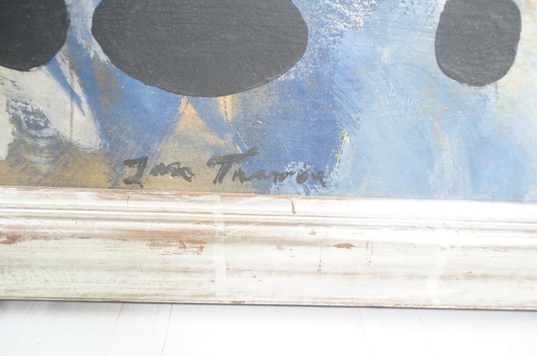 JAN TARASIN Abstract Oil Painting. Muted palette - 2