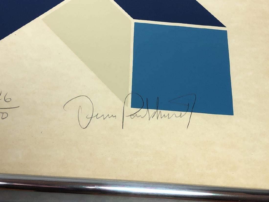 DENIS PARKHURST Graphic Silkscreen Modern Print. - 2