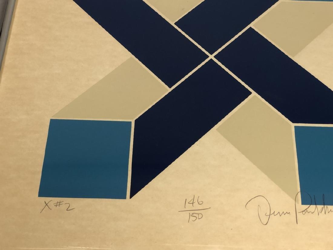 DENIS PARKHURST Graphic Silkscreen Modern Print. - 5