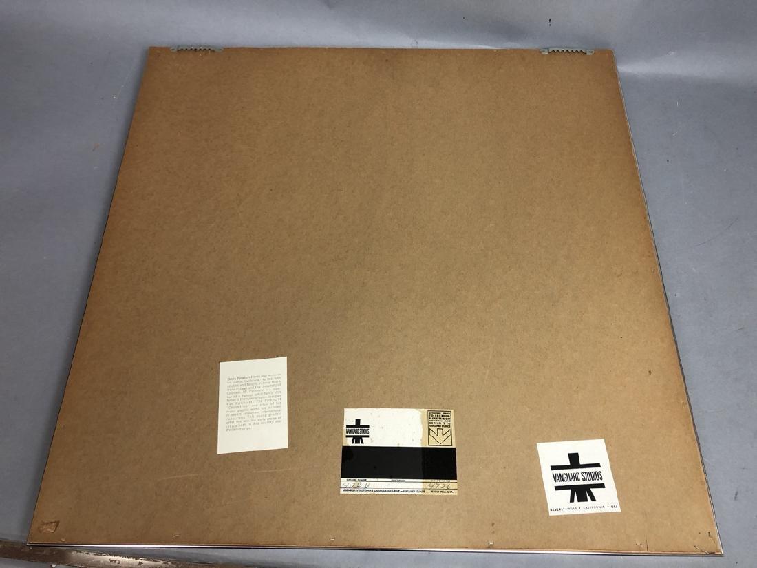 DENIS PARKHURST Graphic Silkscreen Modern Print. - 9