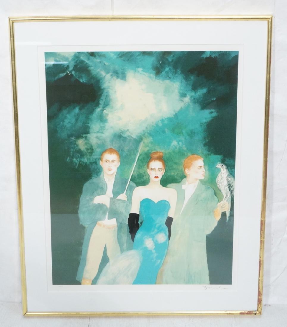Jaonna Zjawinska Large Modernist Print 3 Young Ad
