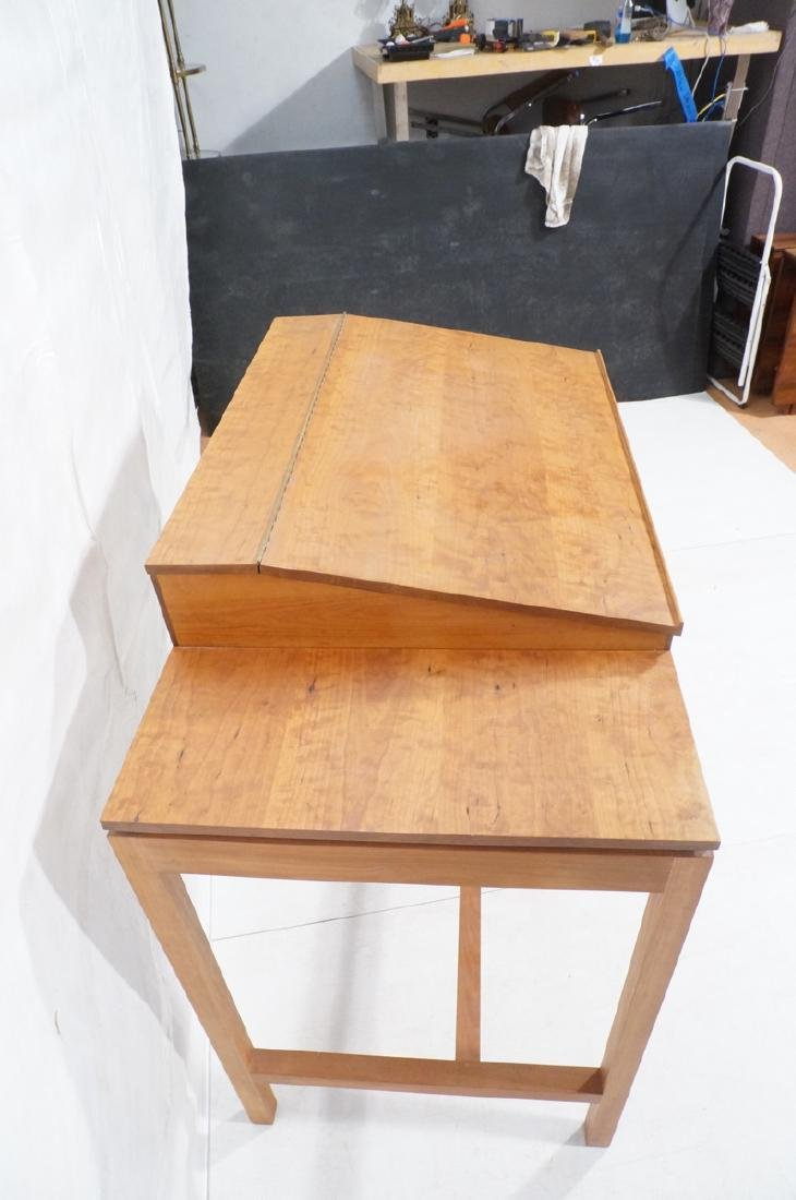 THOMAS MOSER Cherry Craftsman Standing Desk Table - 5