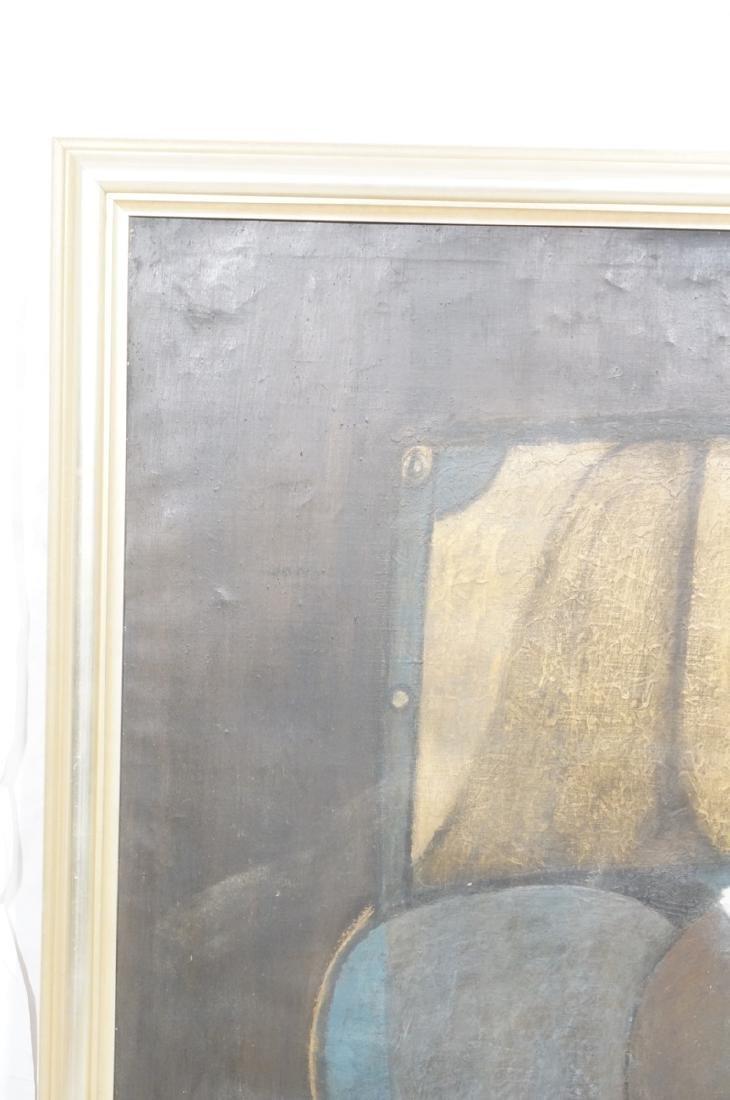 Large JIMMY LEUDERS Modernist Oil Painting. Figur - 10