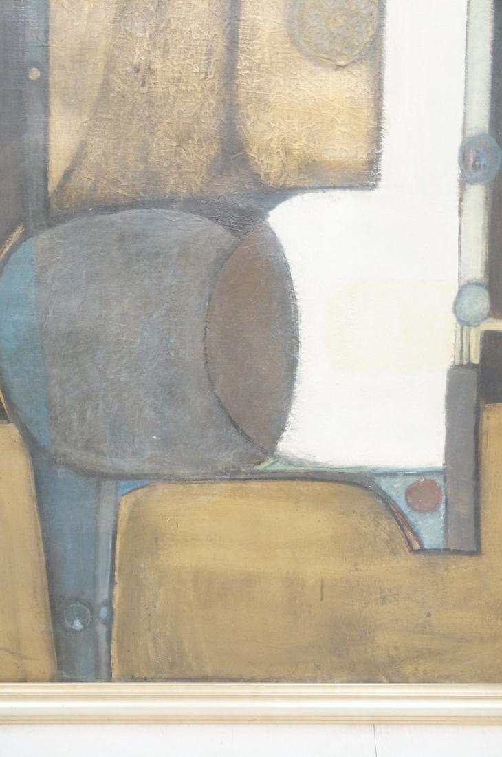 Large JIMMY LEUDERS Modernist Oil Painting. Figur - 4