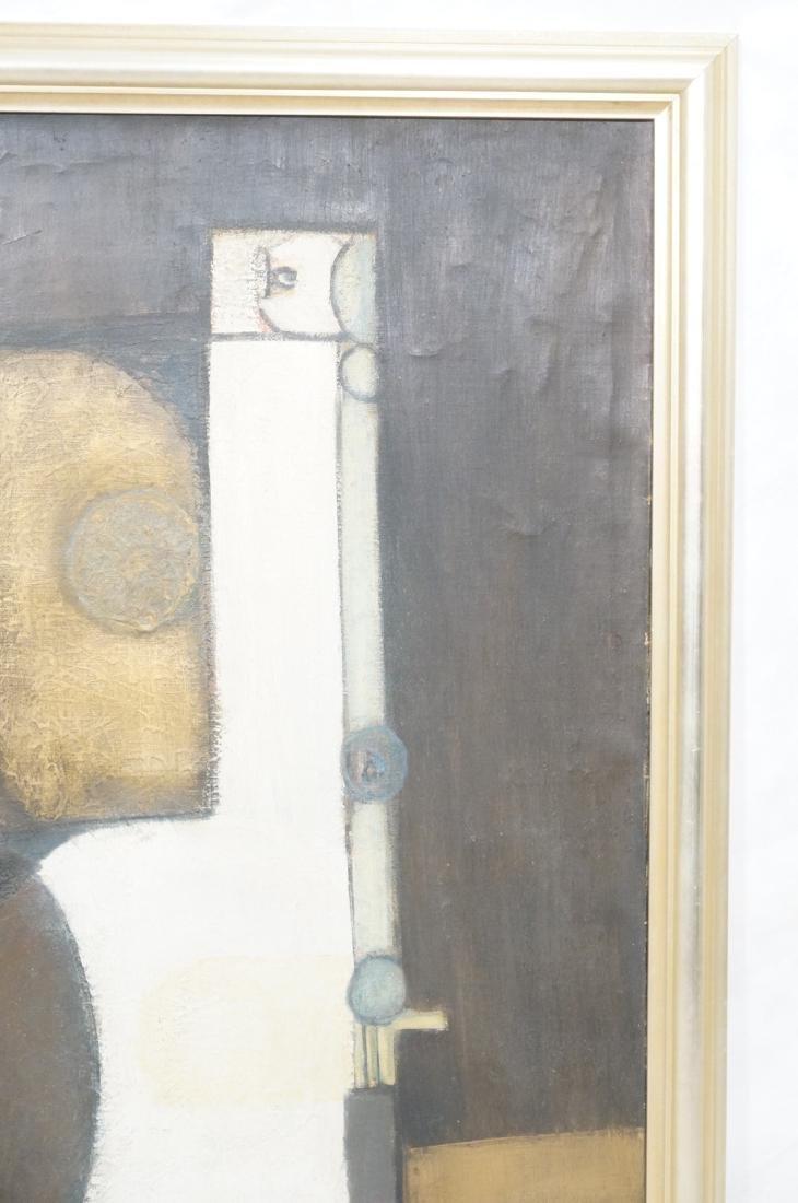 Large JIMMY LEUDERS Modernist Oil Painting. Figur - 5