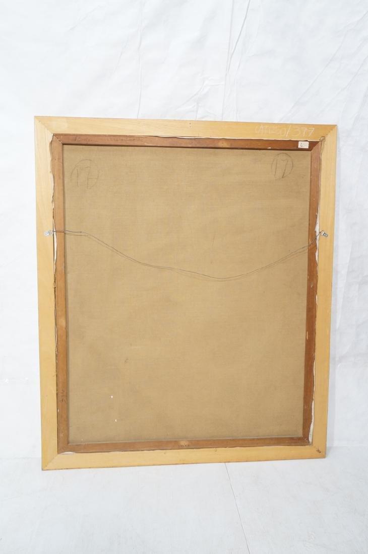 Large JIMMY LEUDERS Modernist Oil Painting. Figur - 7
