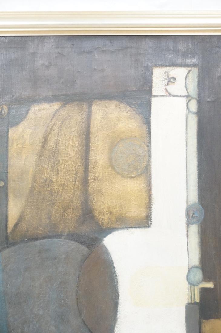 Large JIMMY LEUDERS Modernist Oil Painting. Figur - 8