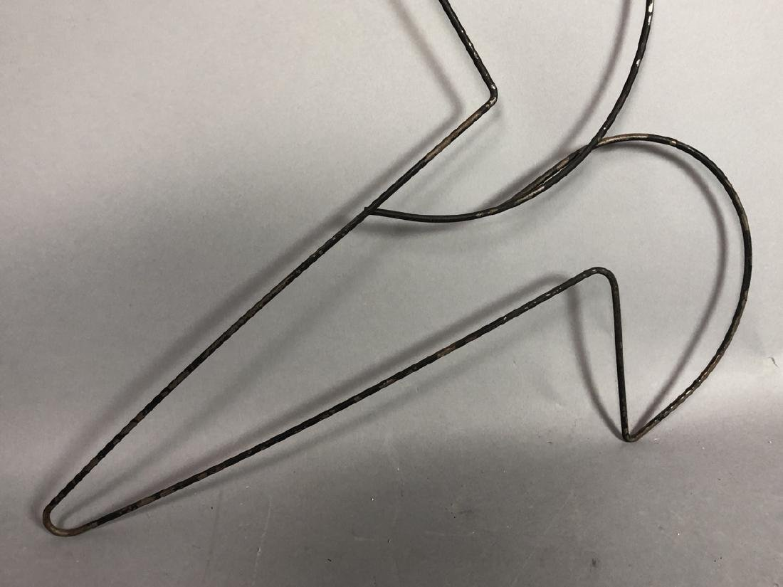 FREDERICK WEINBERG Figural Wire Wall Sculpture. F - 3