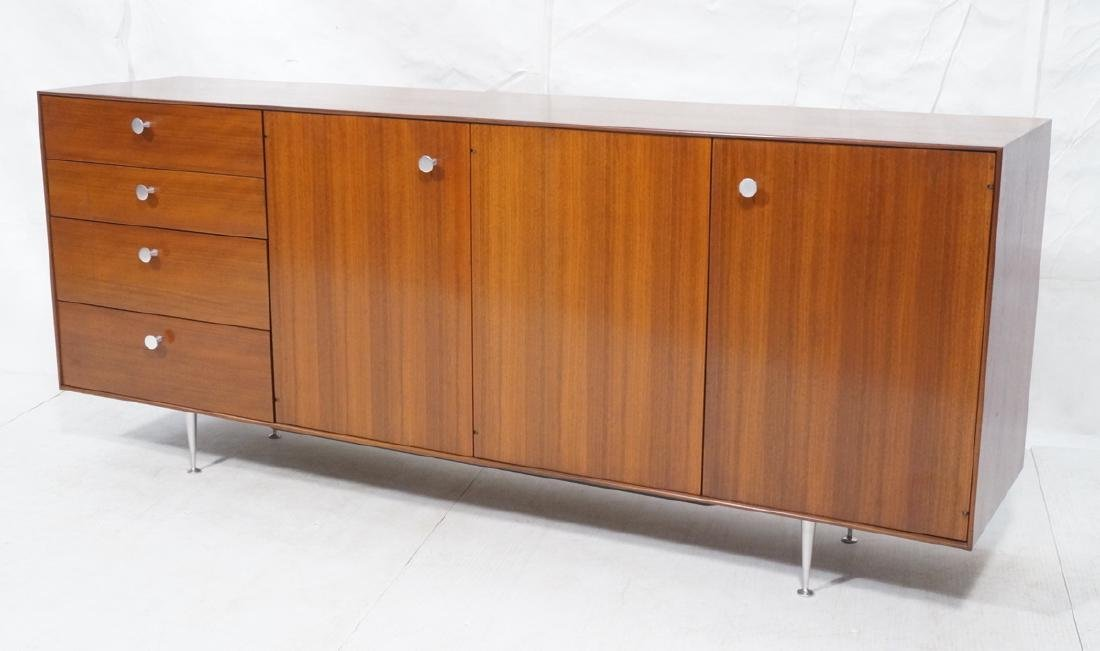 GEORGE NELSON Thin Edge Credenza Sideboard. 3 doo