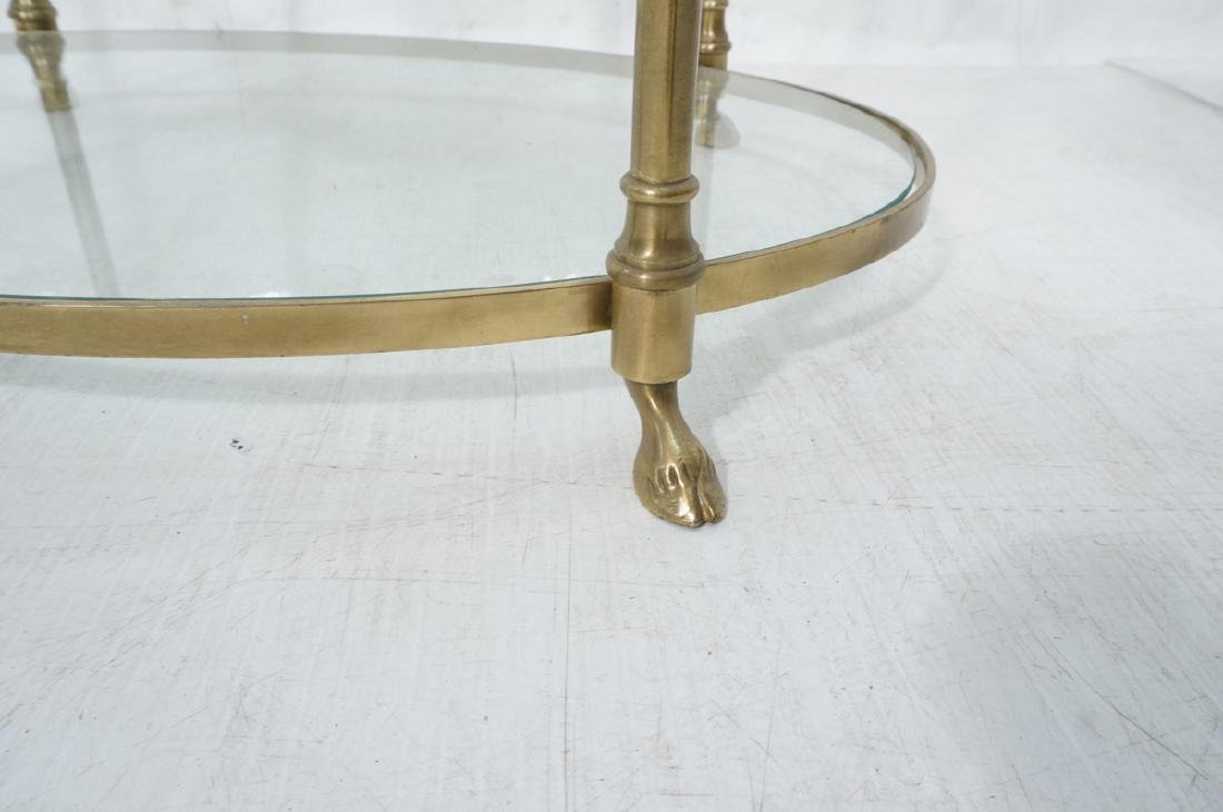 Regency Style Modern Brass Etagere Display Shelf. - 7