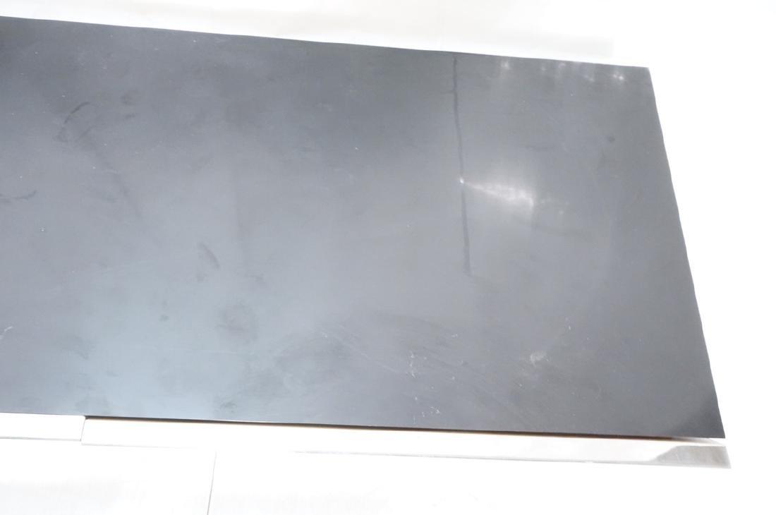 9' Long PACE Hanging Wall Shelf Table. Black lami - 9