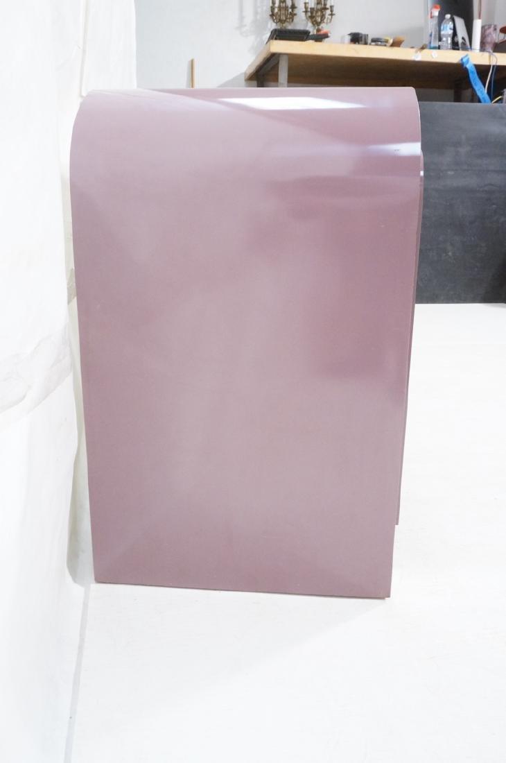 Lavender Laminate 70s Modern Credenza Sideboard. - 3