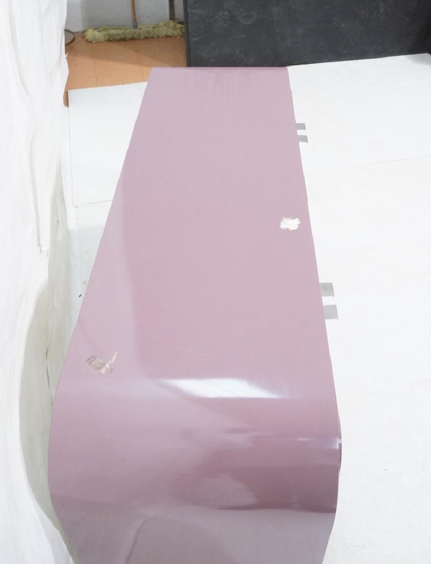 Lavender Laminate 70s Modern Credenza Sideboard. - 4