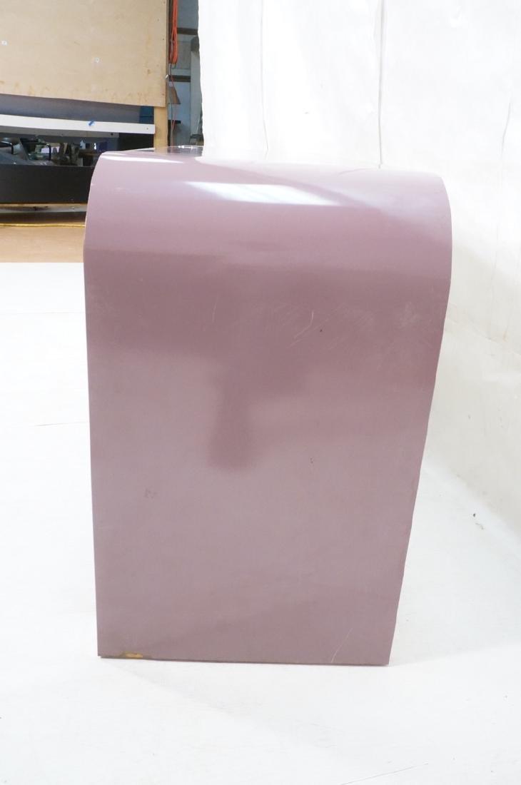 Lavender Laminate 70s Modern Credenza Sideboard. - 5