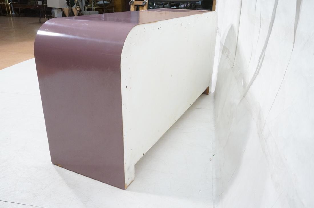 Lavender Laminate 70s Modern Credenza Sideboard. - 6