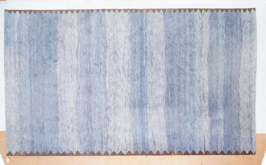 "12'1"" x 9' Contemporary Wool Rug KALEEN. Large ro"