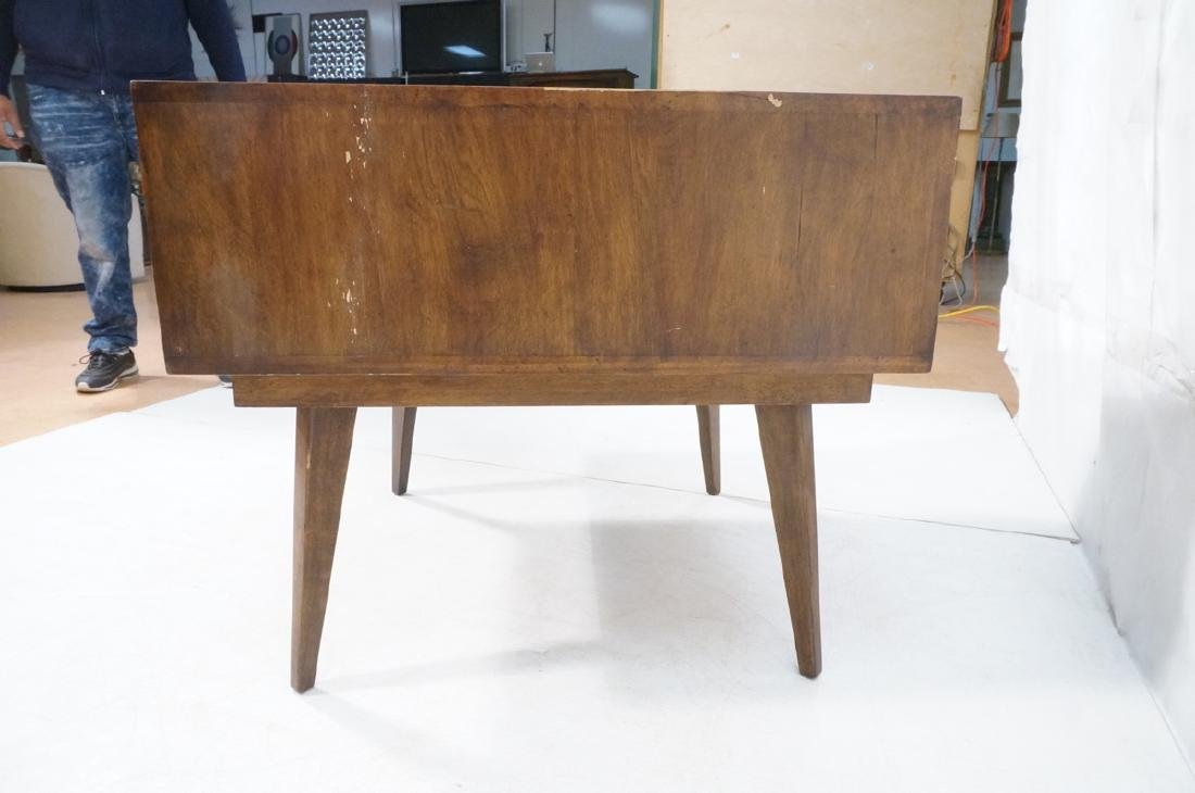 Mid Century Modern Square Step Table. Curved shap - 5