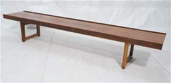 BRUKSBO Scandinavian Modern Rosewood Coffee Table