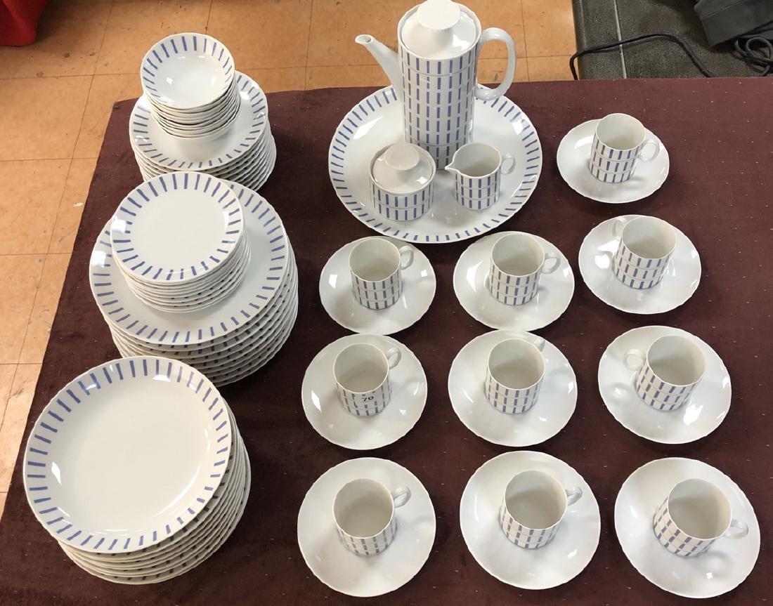 Thomas Germany Modernist Dinnerware set.  Decorat