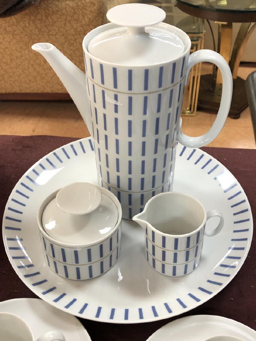 Thomas Germany Modernist Dinnerware set.  Decorat - 2