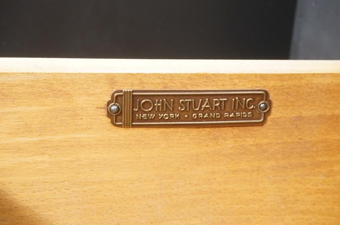 Pr JOHN STUART Ebonized Bachelors Chests. Modern - 6