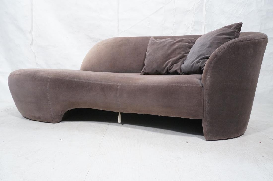 VLADIMIR KAGAN Cloud Modern Sofa Couch. Smoky gra - 2