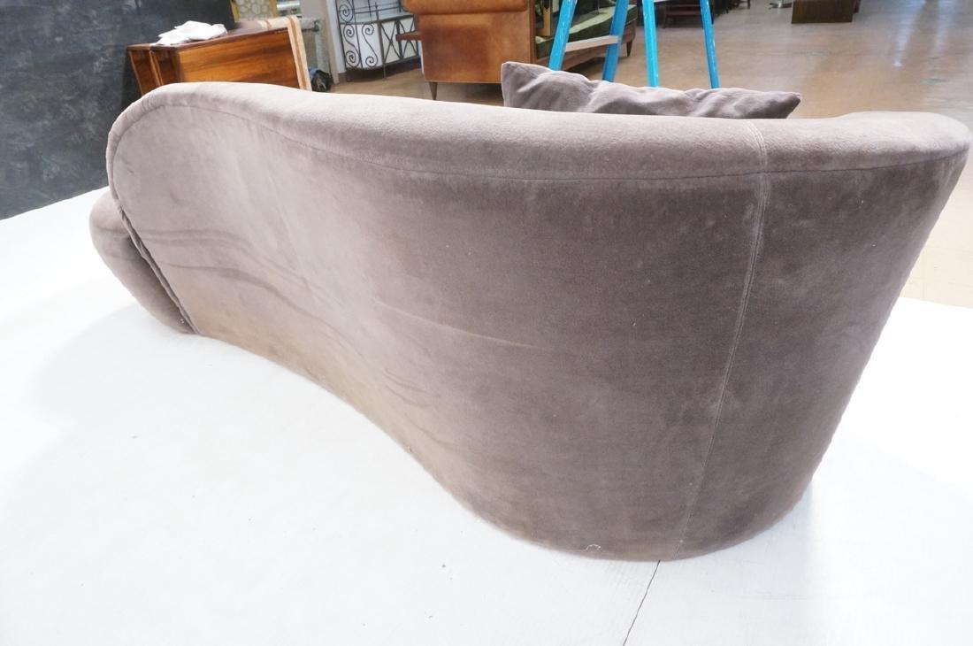 VLADIMIR KAGAN Cloud Modern Sofa Couch. Smoky gra - 3