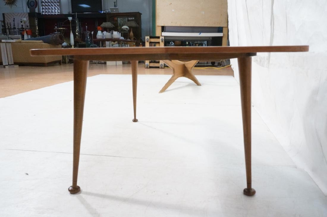Italian style Modernist Cocktail Table. Shaped wo - 5