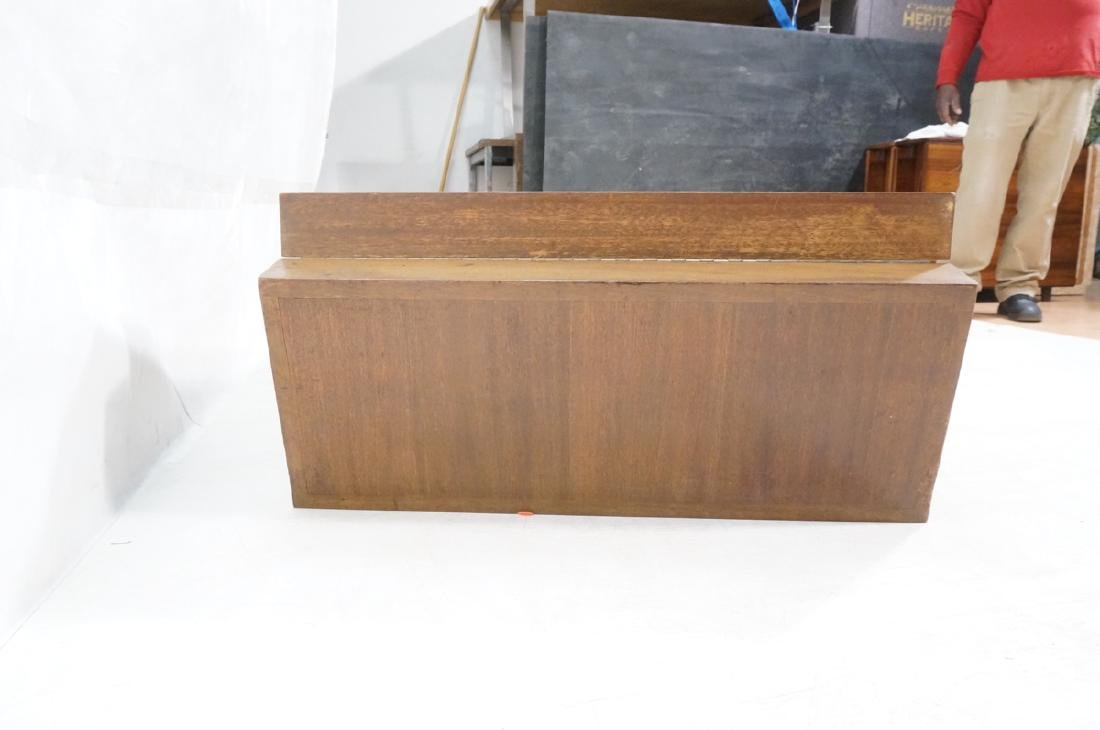 PAUL FRANKL Style Modernist Walnut Coffee Table C - 4
