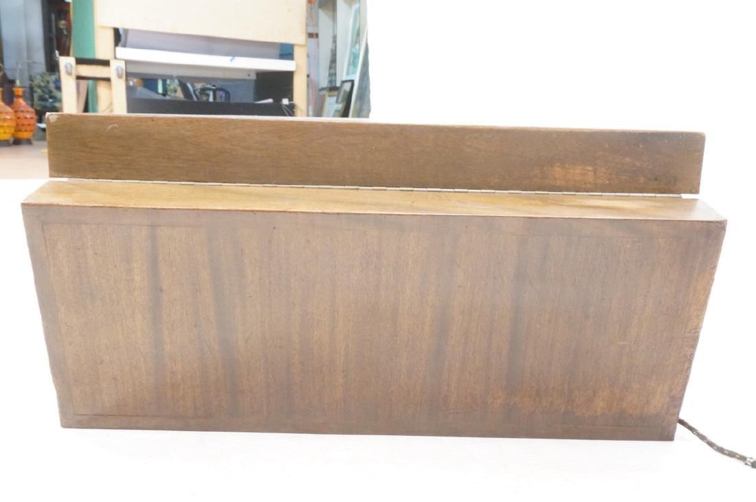 PAUL FRANKL Style Modernist Walnut Coffee Table C - 5