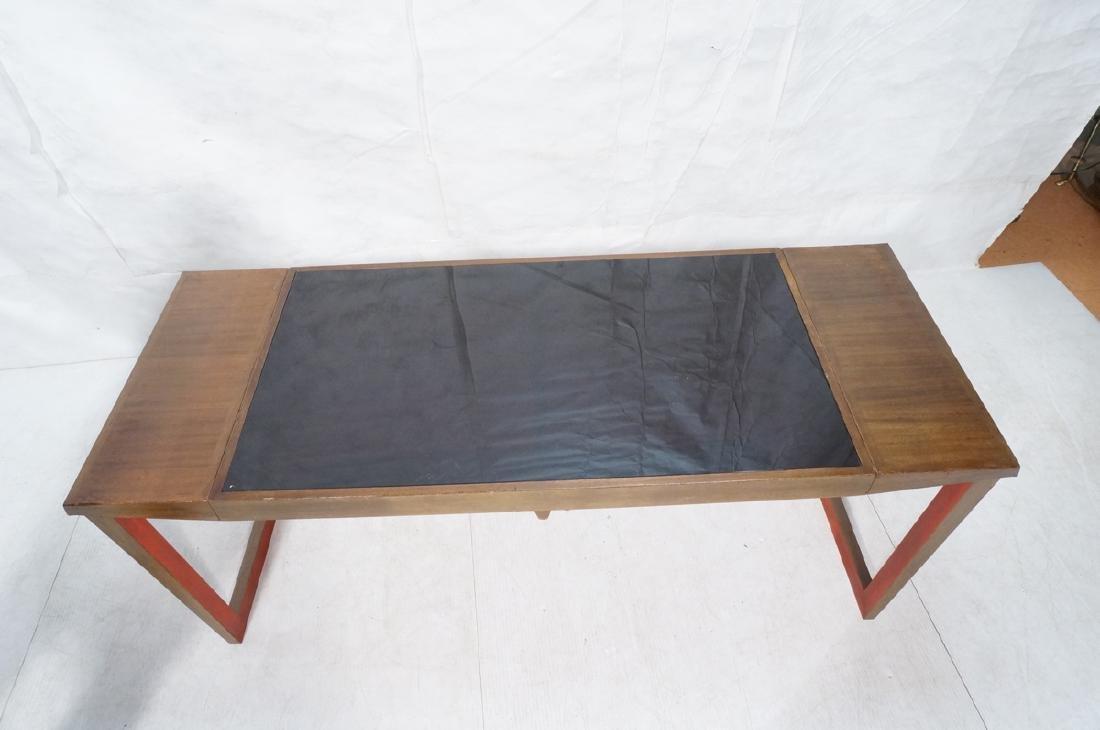 PAUL FRANKL Style Modernist Walnut Coffee Table C - 8