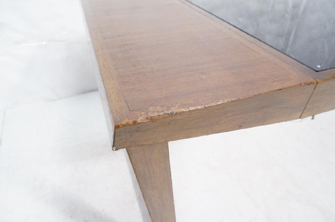 PAUL FRANKL Style Modernist Walnut Coffee Table C - 9
