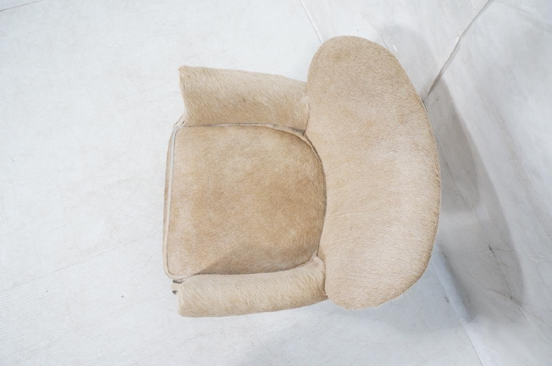 RESTORATION HARDWARE Natural Fur Hide Lounge Chai - 5