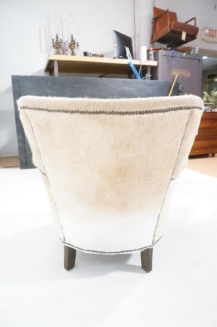 RESTORATION HARDWARE Natural Fur Hide Lounge Chai - 6