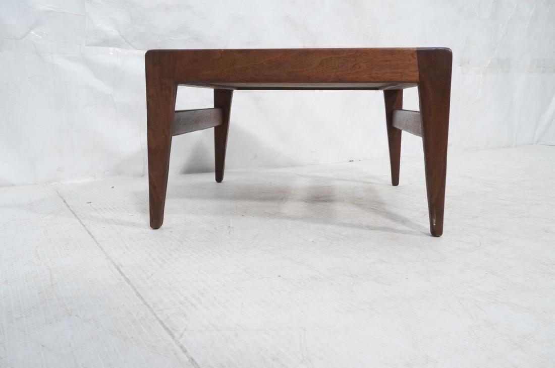 JENS RISOM American Modern Walnut Stool Bench. Wa - 2