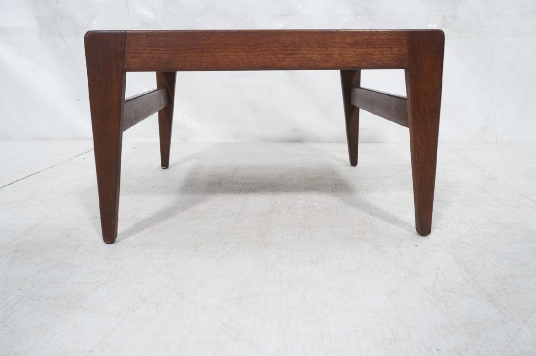 JENS RISOM American Modern Walnut Stool Bench. Wa - 4