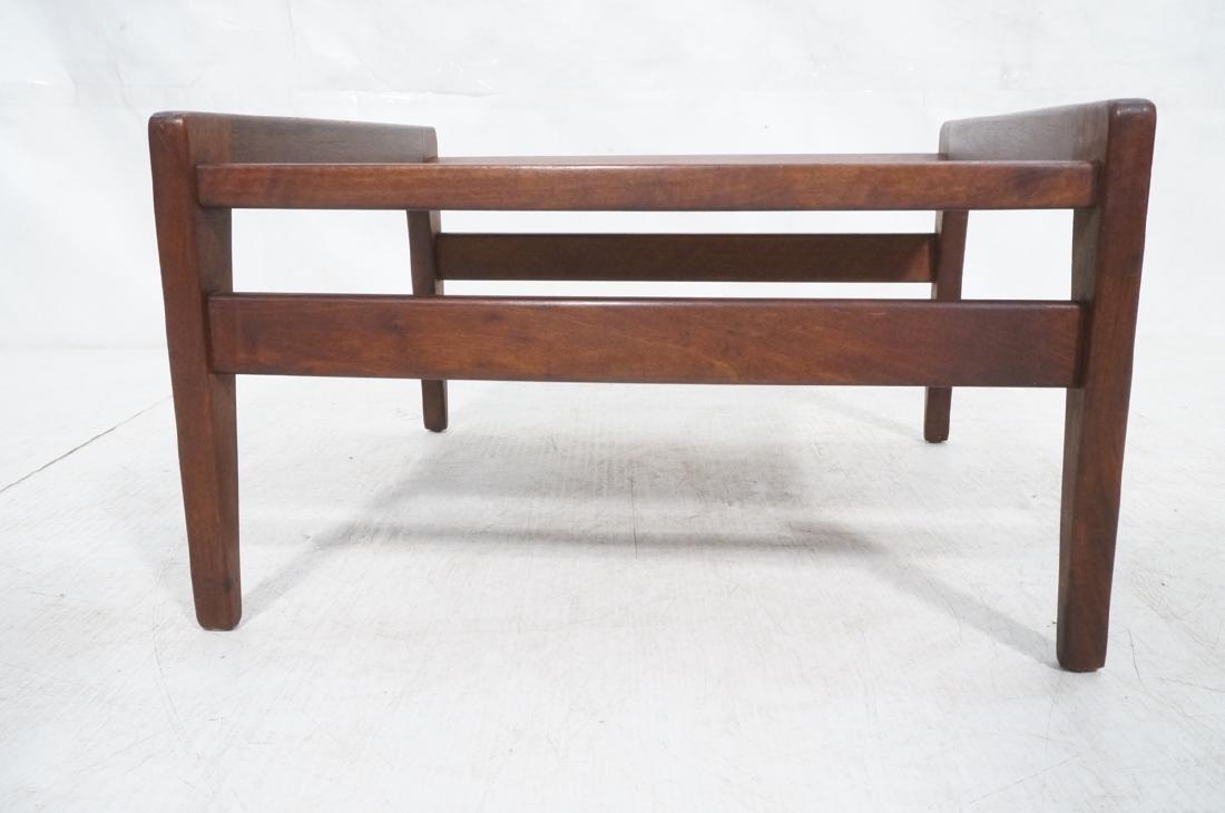 JENS RISOM American Modern Walnut Stool Bench. Wa - 5