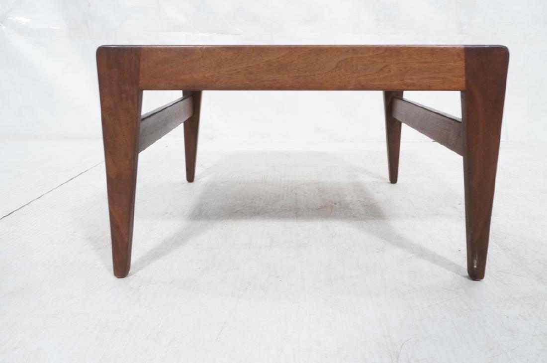 JENS RISOM American Modern Walnut Stool Bench. Wa - 6
