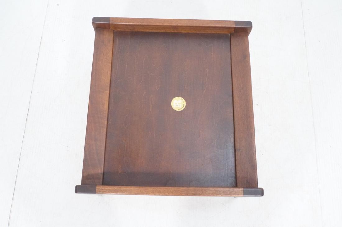 JENS RISOM American Modern Walnut Stool Bench. Wa - 7