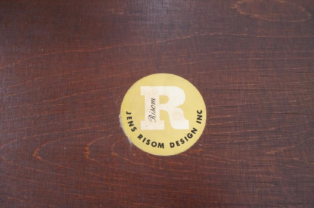 JENS RISOM American Modern Walnut Stool Bench. Wa - 8