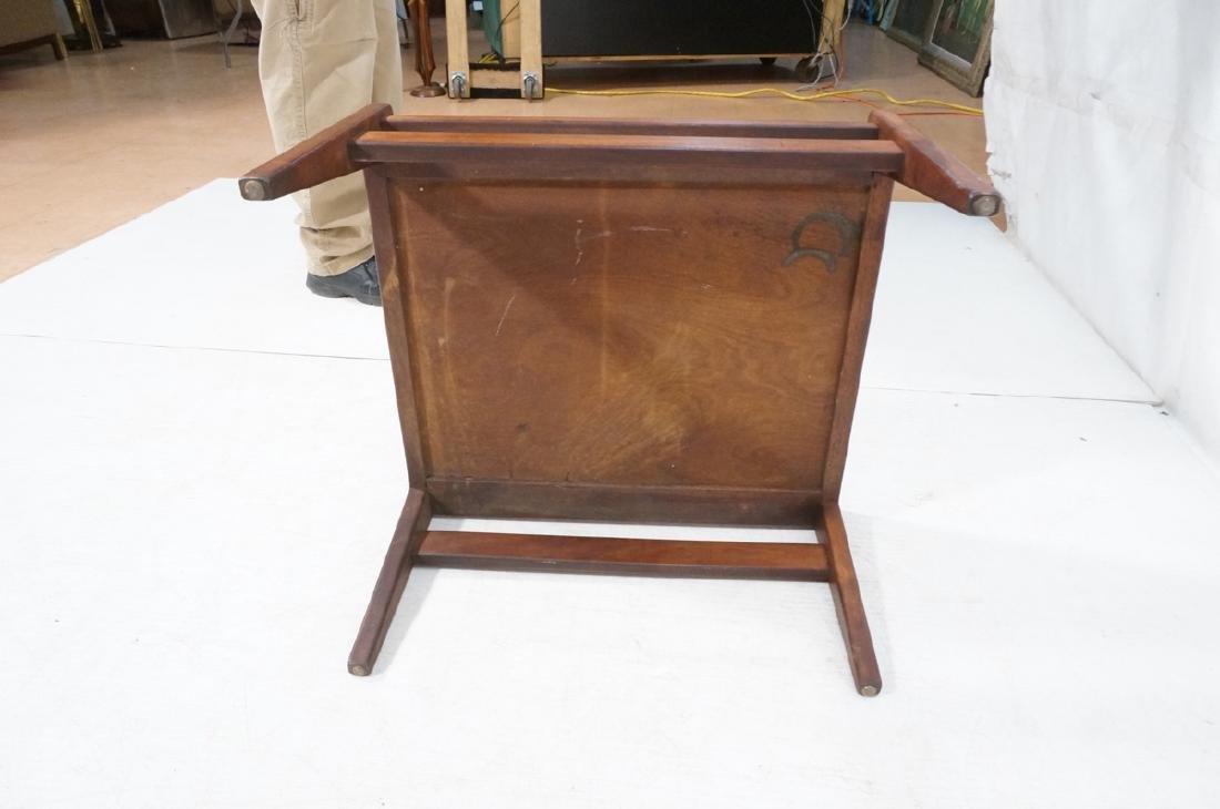 JENS RISOM American Modern Walnut Stool Bench. Wa - 9